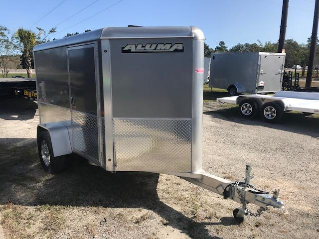 2018 Aluma AE58M Enclosed Cargo Trailer
