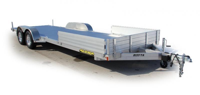 2021 Aluma 8122TA Utility Trailer