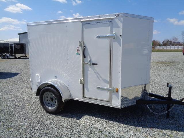 2021 Forest River GANS58SA Enclosed Cargo Trailer