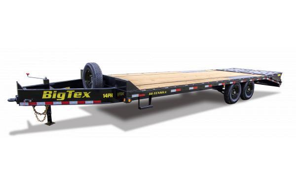 2021 Big Tex Trailers 16PH-25+5 Flatbed Trailer
