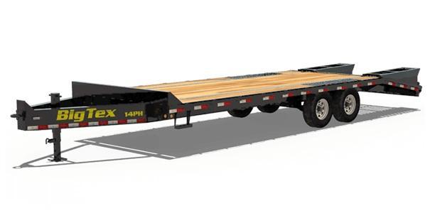2022 Big Tex Trailers 14PH-20+5 Equipment Trailer
