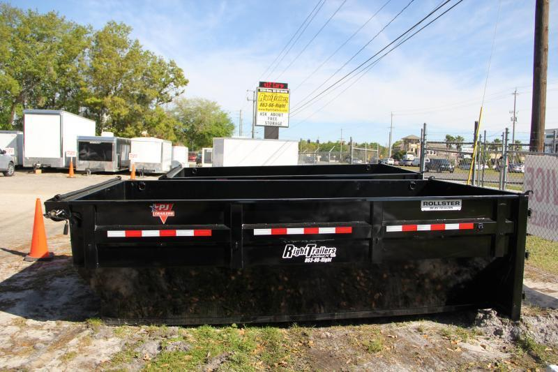2021 PJ Trailers DUMP BIN Dump Bodies