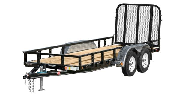 2021 PJ Trailers 60 in. Tandem Axle Channel Utility (UC) Utility Trailer