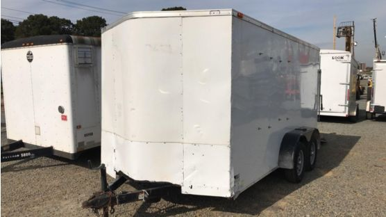 2020 Forest River GANS712TA2 Enclosed Cargo Trailer
