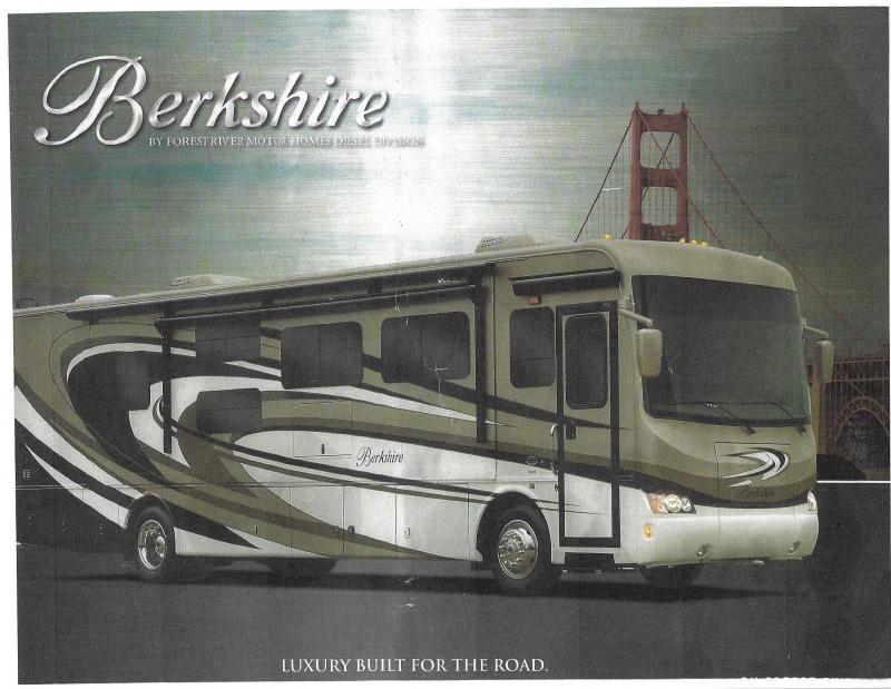 2016 Berkshire Other (Not Listed) BERKSHIRE MODEL 38A-340HP Class A RV