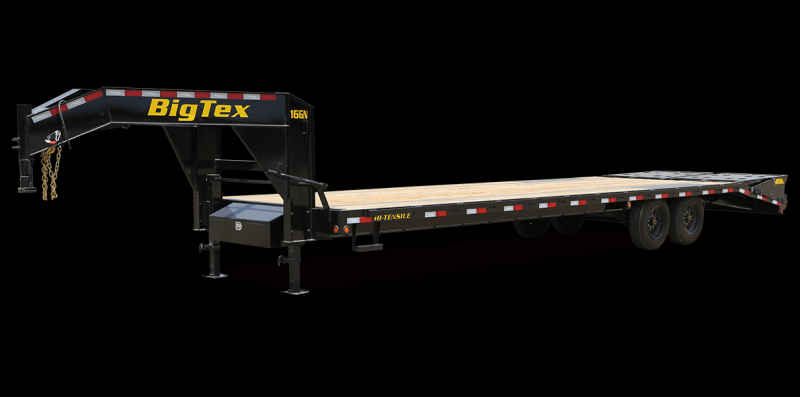 2021 Big Tex Trailers 16GN-25BK+5 Equipment Trailer