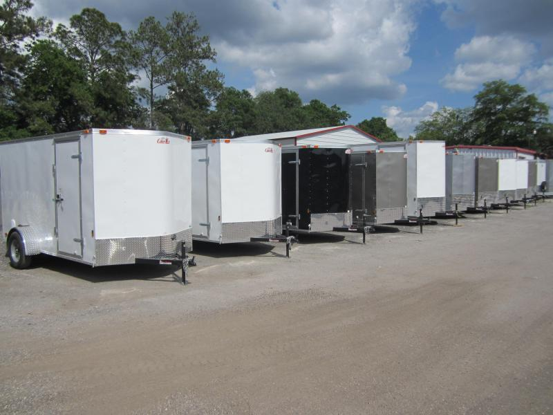 2021 Forest River GANS610SA Enclosed Cargo Trailer