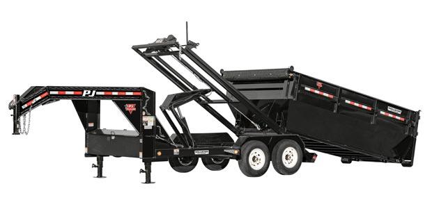 2021 PJ Trailers Rollster Roll Off Dump (DR) Dump Trailer