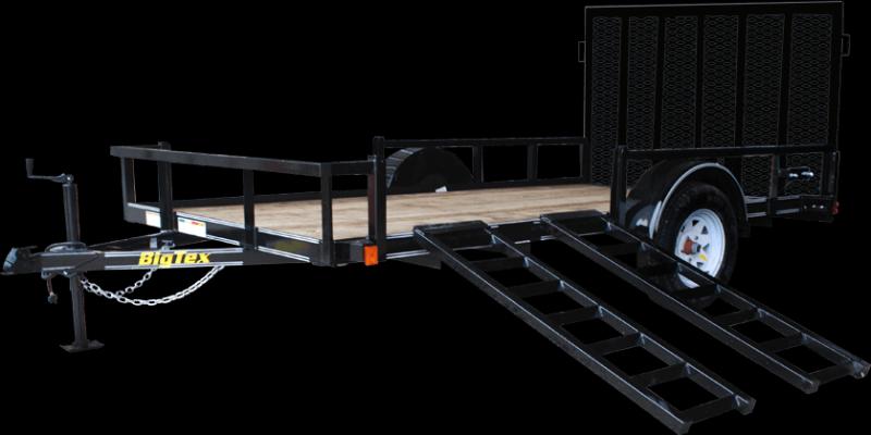 2021 Big Tex Trailers 35SA-14BK4RG Utility Trailer