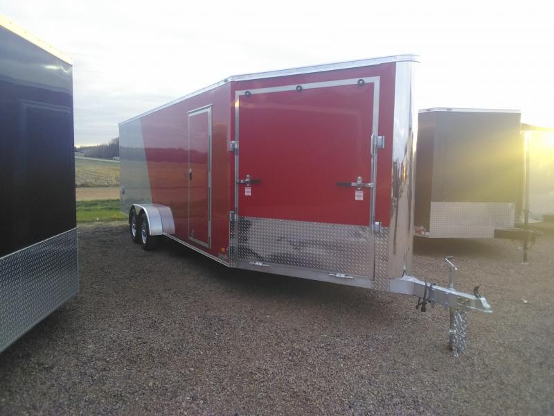 2020 Bravo Trailers 7X27ALUMINUM SNOW TRAILER Snowmobile Trailer