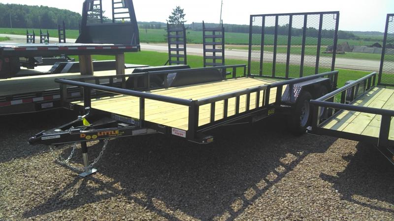 2020 Doolittle Trailer Mfg 84-16 Utility Trailer