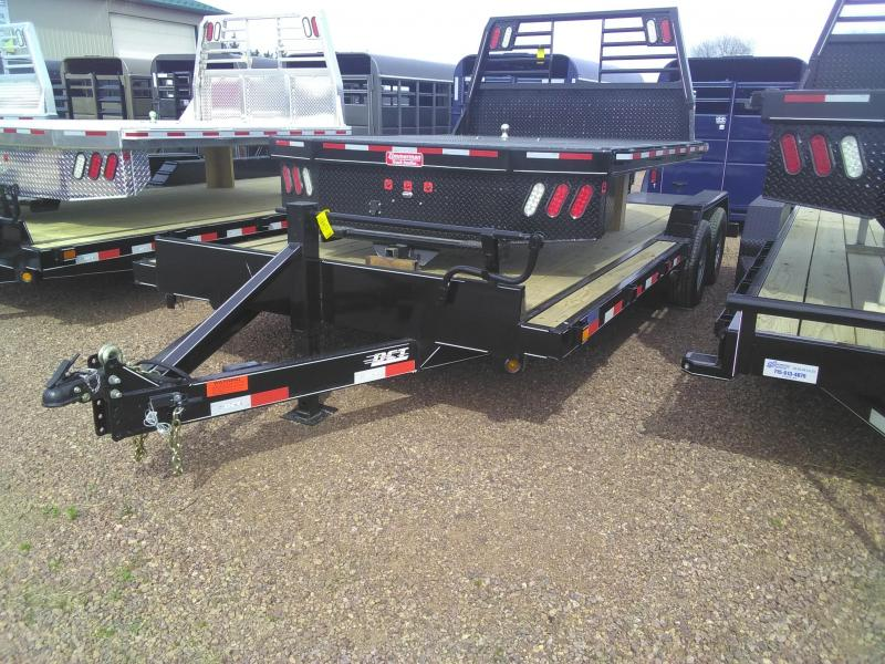 2020 DCT 20 ft 10k bumper pull Flatbed Trailer