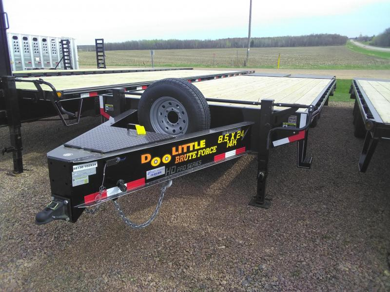 2020 Doolittle Trailer Mfg 24FT Brute Force Tandem Axle 14K Equipment Trailer