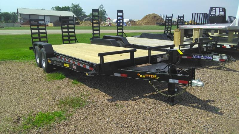 2020 Doolittle Trailer Mfg 82-20 Equipment Trailer
