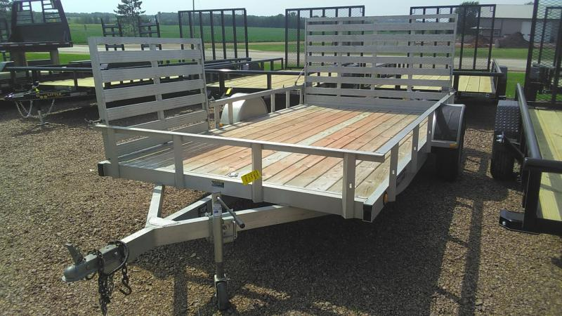 2010 Trophy Trailers 12 side ramp Utility Trailer