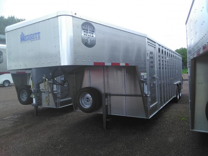 2020 Merrit Trailers Cattle Drive Livestock Trailer