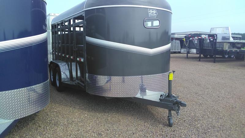 2020 S & S Dura-Line 6-8x16 Livestock Trailer