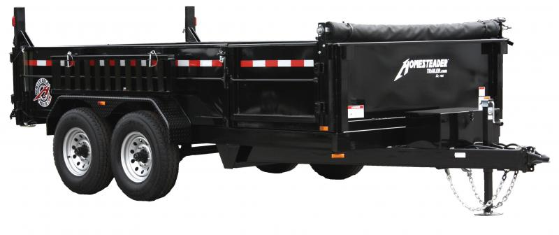 2021 Homesteader Trailers 712MX Dump Trailer