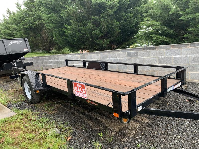 2018 B-Wise U614-3 Flatbed Trailer