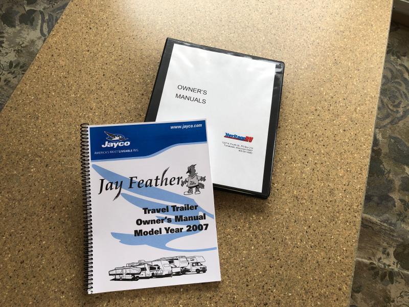 2007 Jayco Jay Feather M-25Z Travel Trailer RV