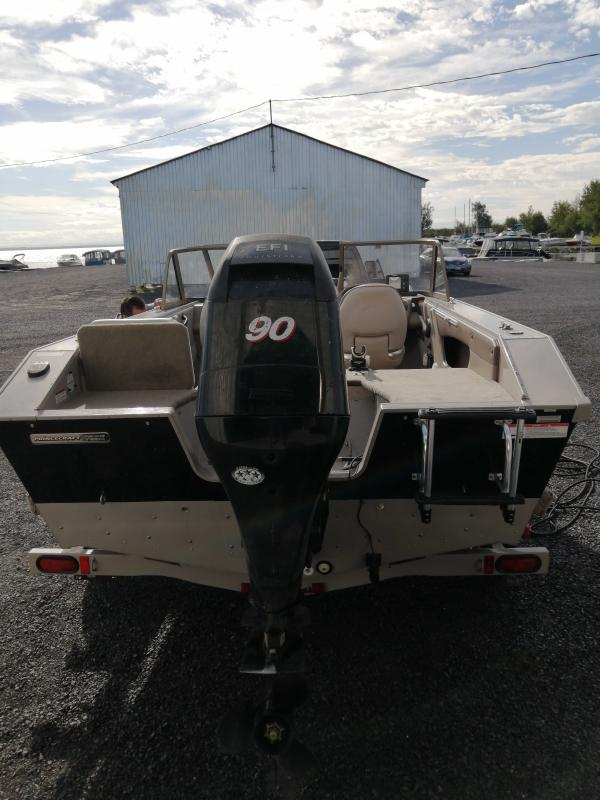 2007 Princecraft Pro Series 166 Fishing Boat