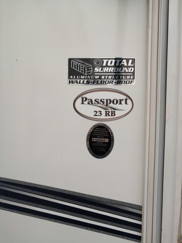 2013 Keystone RV Passport Ultra Lite Passport Ultra Lite 23RB Travel Trailer RV