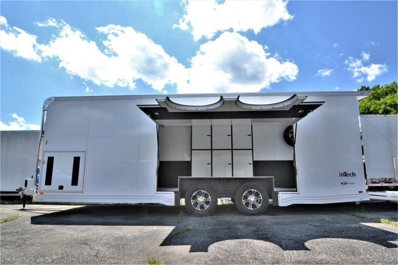 2022 24' inTech Race Car Trailer w/ ICON PACKAGE AND ESCAPE DOOR-DUE SEPTEMBER 2021