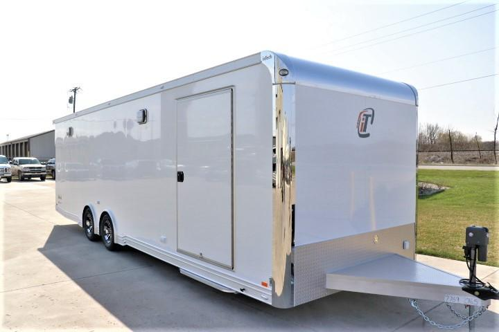 2018 inTech Trailers 28 Icon Escape Door Custom Car / Racing Trailer