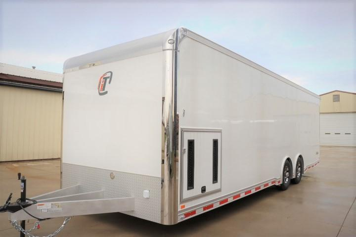 2022 28' inTech All Aluminum Racecar Trailer w/ ICON PACKAGE-DUE OCTOBER 2021