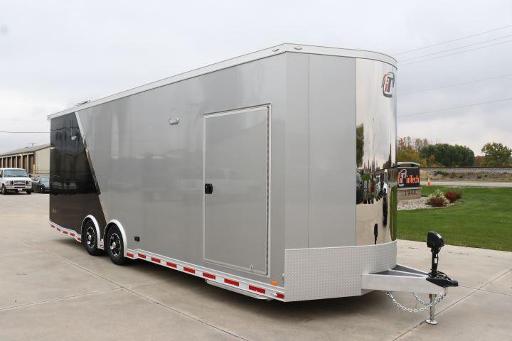 COMING SOON! 2022 18' inTech 2-tone LOADED WITH OPTIONS All Aluminum Racecar Motorcycle Trailer w/ ICON PACKAGE-DUE NOVEMBER 2021