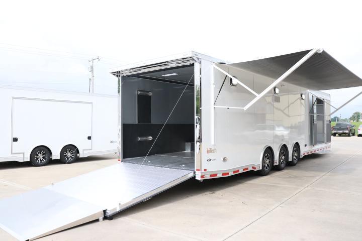 2022 BRAND NEW inTech Trailers 34 Icon Race Trailer Car / Racing Trailer
