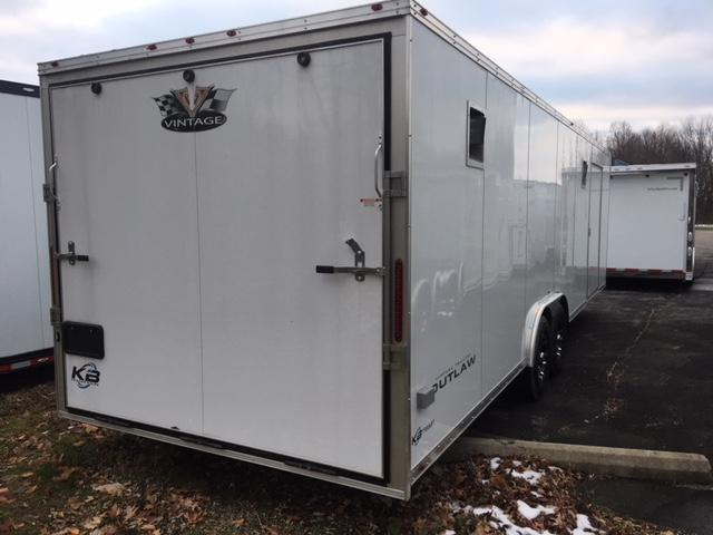 2020 Vintage Trailers 28 Outlaw Car / Racing Trailer
