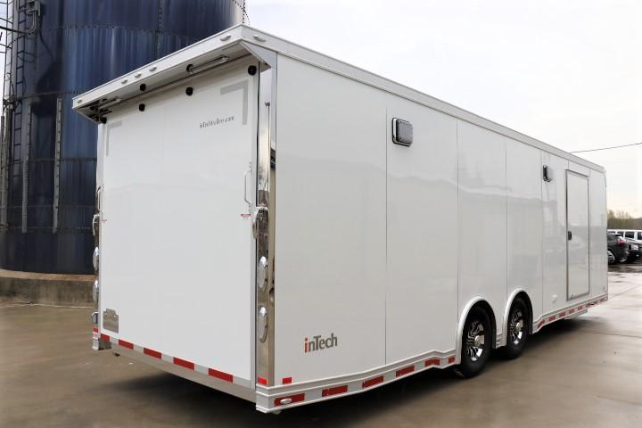 2021 28' inTech All Aluminum Racecar Trailer-DUE NOV. 2020