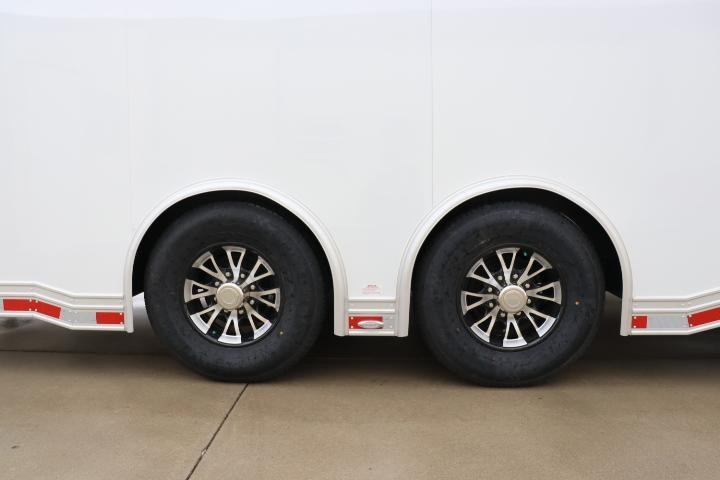 2021 28' inTech All Aluminum Racecar Trailer-DUE JUNE 2021