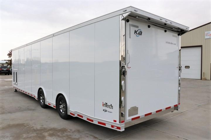 2021 40' GN inTech All Aluminum Trailer with ICON Package & More