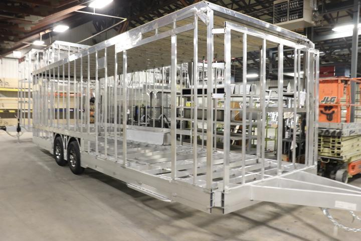 COMPLETED! 2021 28' inTech All Aluminum Racecar Trailer w/ ICON PACKAGE-DUE APRIL 2021