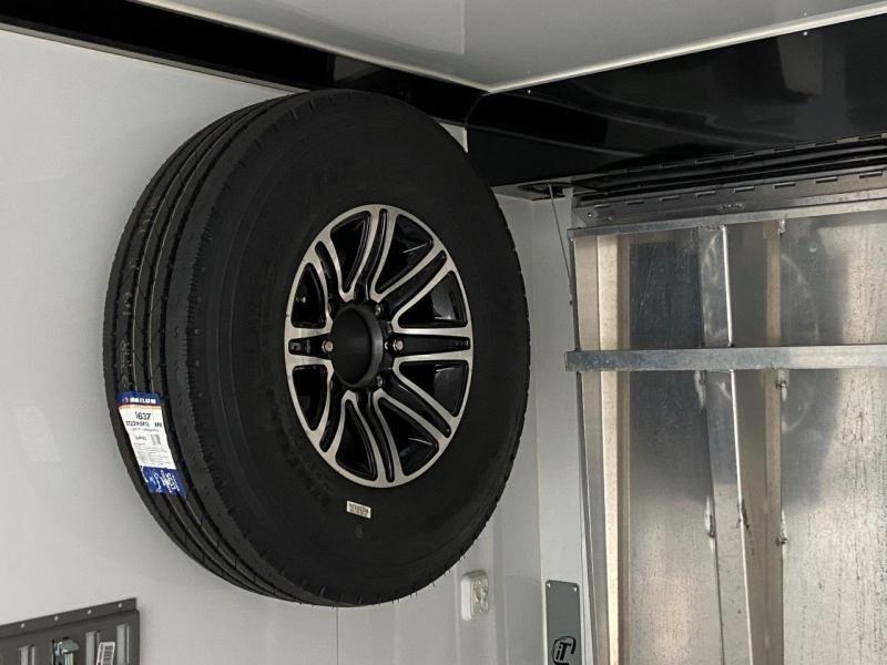 2017 USED inTech Trailers 46' Aluminum Enclosed Car / Racing Trailer