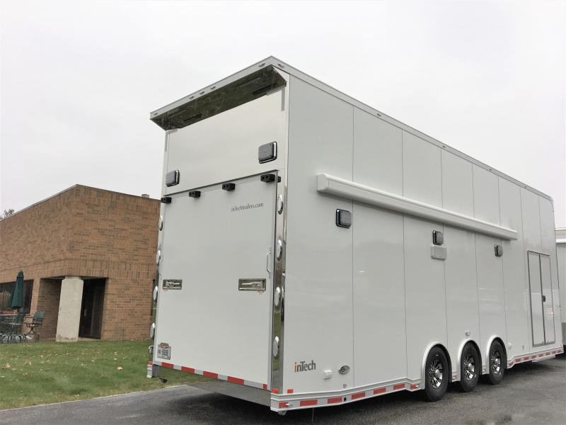 2019 inTech Trailers 32 Stacker Enclosed Cargo Trailer