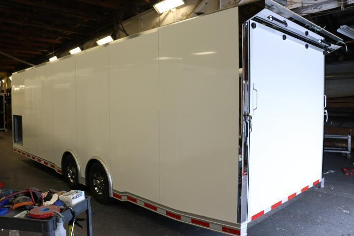 2022 28' inTech All Aluminum Racecar Trailer w/ ICON PACKAGE-DUE DECEMBER 2021