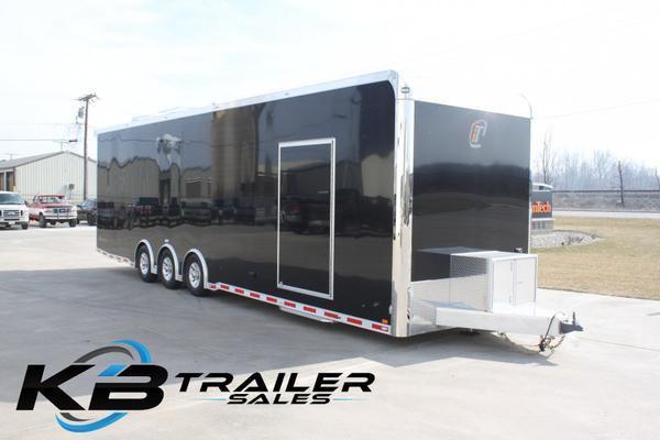 2017 inTech Trailers 34 Custom InTech Tag Triple Axle 8.5 interior height All Aluminum Car / Racing Trailer