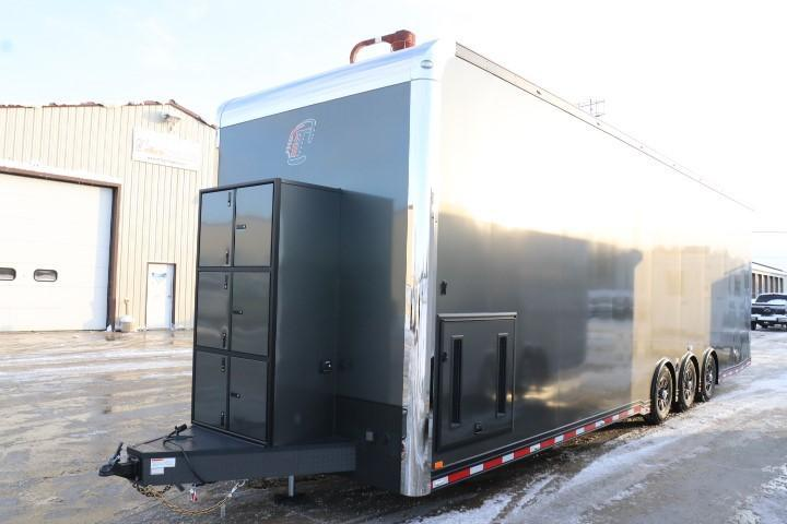 2020 inTech Trailers New 34' intech Bumper Pull Trailer Enclosed Cargo Trailer