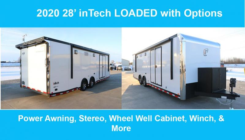2020 inTech Custom Race Car Trailer- DEMO Unit