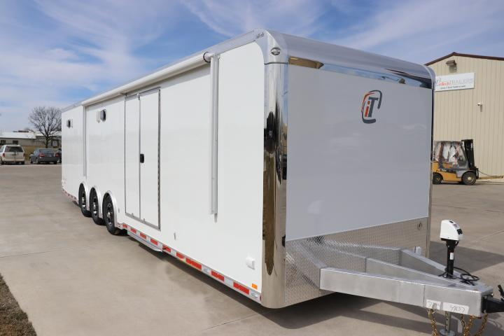 2021 34' inTech Trailer with Bathroom Pkg & More- Due Spring 2021
