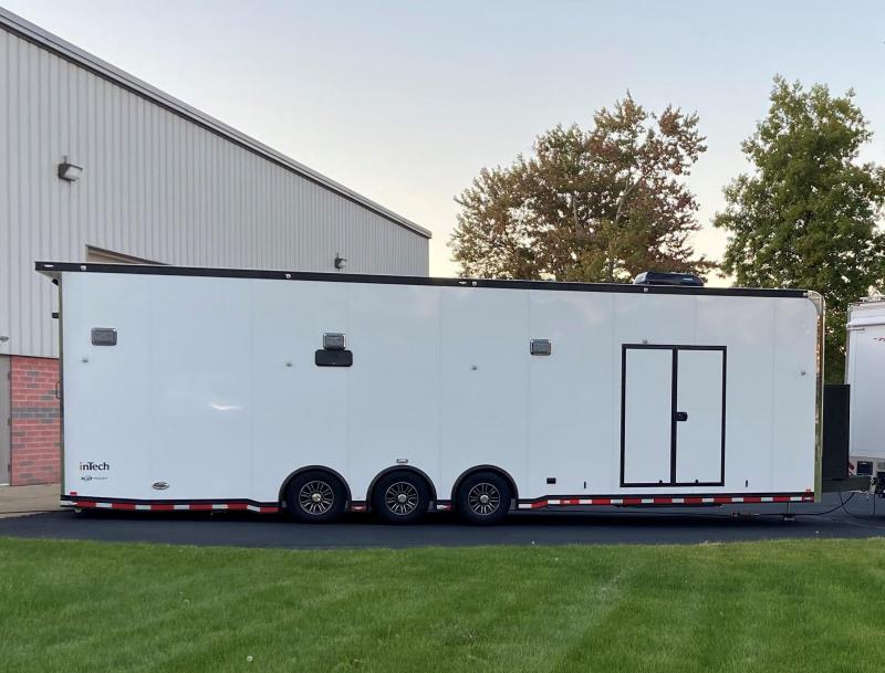 2019 34' inTech Demo Race Car Trailer-LOADED!!!