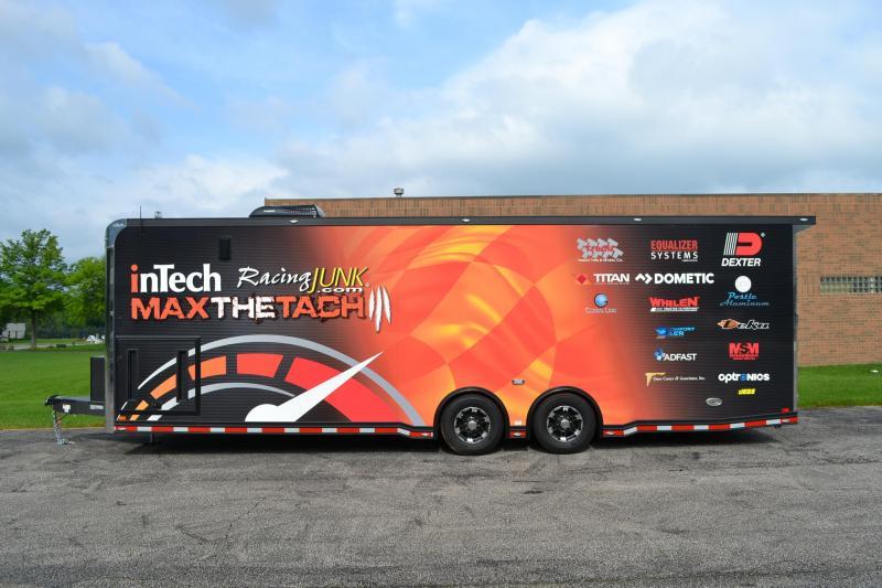 2019 inTech Trailers 28 Icon Factory Sponsorship Trailer Car / Racing Trailer