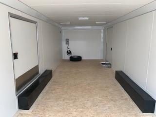 JUST ARRIVED - AVAILABLE TODAY!  2021 Pace American 24' Pursuit Race Trailer with escape door