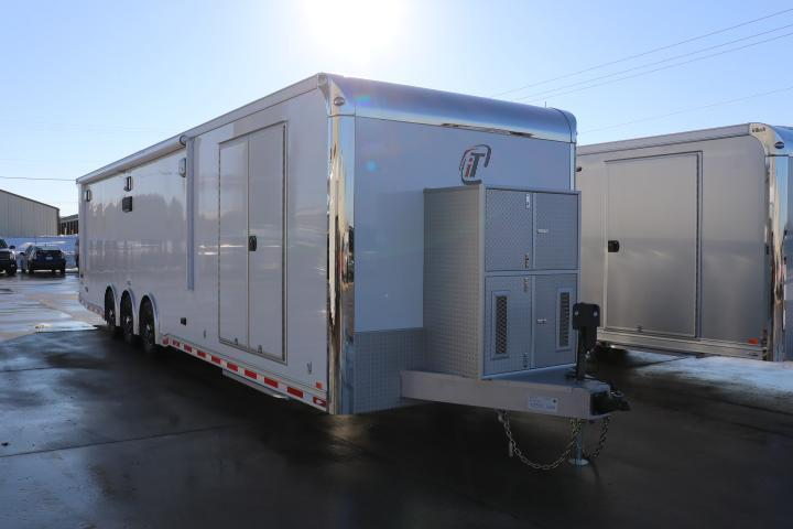 COMING SOON! 2021 inTech 34' Race Car Trailer, tie-downs galore, well equipped - DUE JUNE 2021