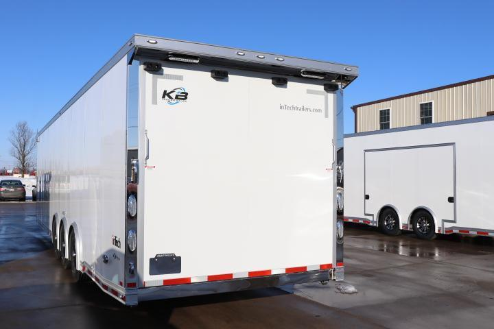 COMING SOON! 2021 inTech 34' Race Car Trailer, tie-downs galore, well equipped - DUE MAY 2021