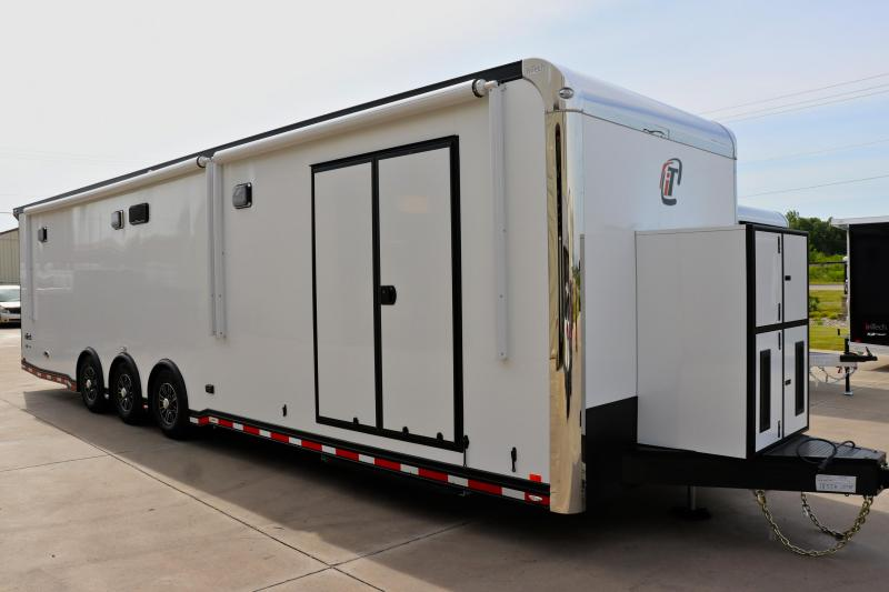 NEW ARRIVAL!!! 2021 inTech 34' Race Car Trailer, tie-downs galore, well equipped