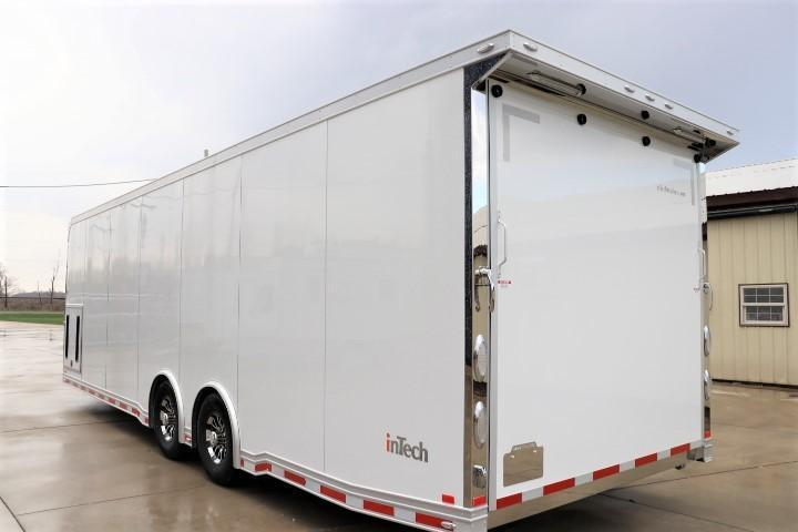 IN PRODUCTION! 2021 28' inTech All Aluminum Racecar Trailer w/ ICON PACKAGE-DUE MARCH 2021